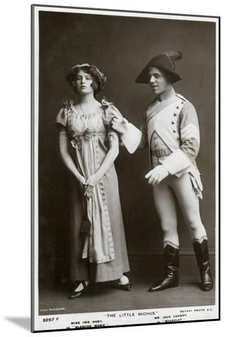 Iris Hoey and Jack Cannot, British Actors, C1908--Mounted Giclee Print