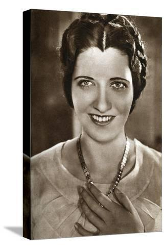 Kay Francis, American Actress, 1933--Stretched Canvas Print