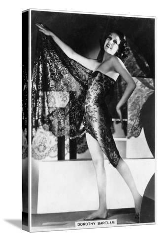 Dorothy Bartlam, British Actress, 1938--Stretched Canvas Print