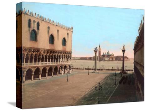 St Mark's Square, Venice--Stretched Canvas Print