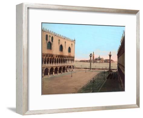 St Mark's Square, Venice--Framed Art Print