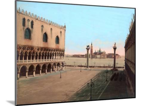 St Mark's Square, Venice--Mounted Giclee Print