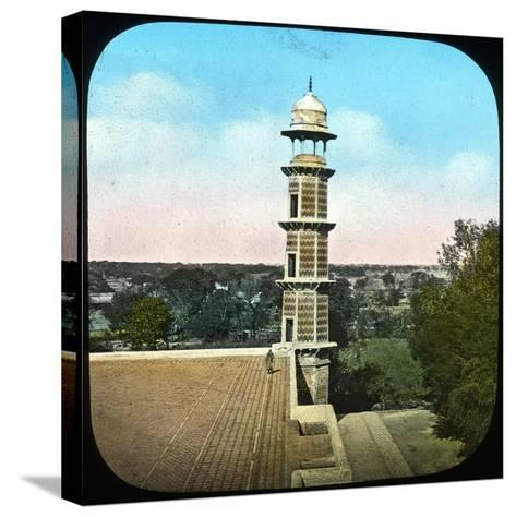 Panorama, Lahore, Punjab, India, Late 19th or Early 20th Century--Stretched Canvas Print