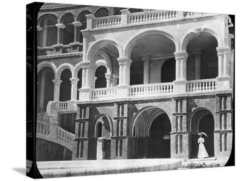 Khartoum Palace, Sudan, C1890-Newton & Co-Stretched Canvas Print