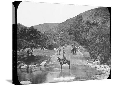 Van Stadens Pass, South Africa, C1890--Stretched Canvas Print