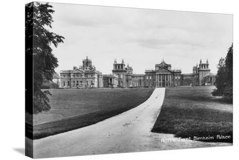 Blenheim Palace, Woodstock, Oxfordshire, Early 20th Century--Stretched Canvas Print