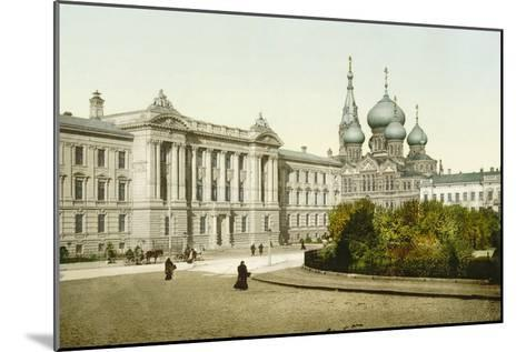 Palace of Justice and Church of St Panteleimon Monastery, Odessa, Russia, C1880S-C1890S--Mounted Giclee Print