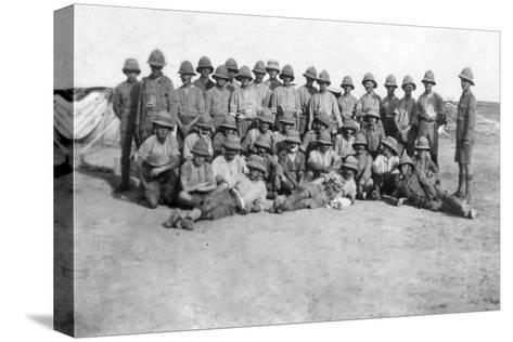 British Army C Group Detachment, Mesopotamia, Wwi, 1918--Stretched Canvas Print