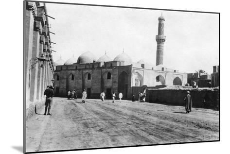 Mosque on River Street, Baghdad, Mesopotamia, Wwi, 1918--Mounted Giclee Print