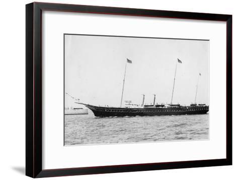 The Royal Yacht 'Victoria and Albert Iii, 1937--Framed Art Print