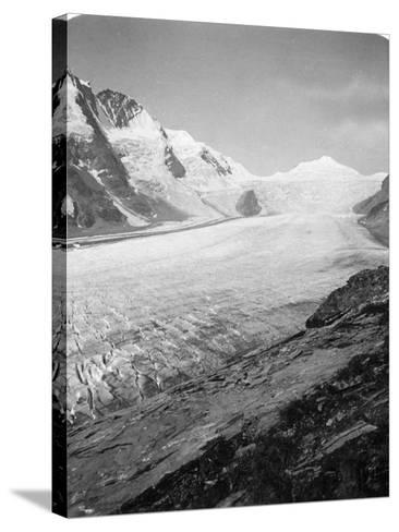 Grossglockner, Hohe Tauern, Austria, C1900s-Wurthle & Sons-Stretched Canvas Print