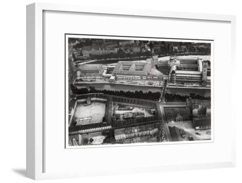 Aerial View of the Deutsches Museum, Munich, Germany, from a Zeppelin, C1931--Framed Art Print