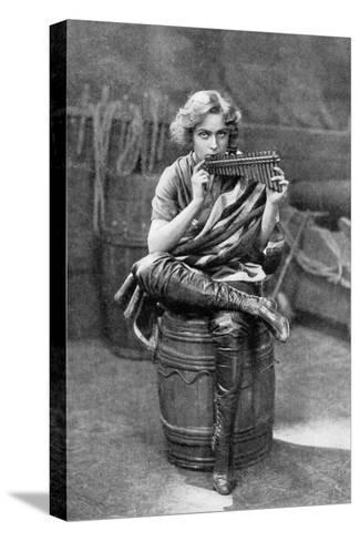 Pauline Chase as Peter Pan, 1908-1909-Alfred & Walery Ellis-Stretched Canvas Print