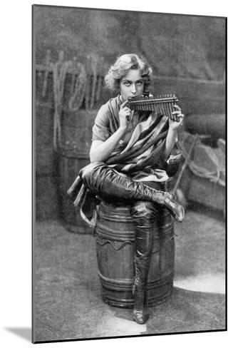 Pauline Chase as Peter Pan, 1908-1909-Alfred & Walery Ellis-Mounted Giclee Print