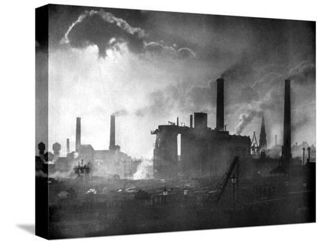 Coal and Iron Production, 1926-Edgar & Winifred Ward-Stretched Canvas Print