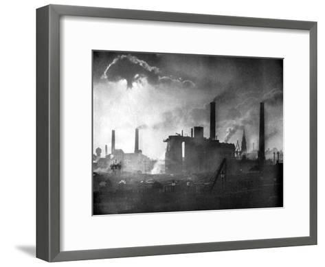 Coal and Iron Production, 1926-Edgar & Winifred Ward-Framed Art Print