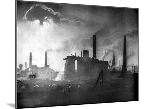 Coal and Iron Production, 1926-Edgar & Winifred Ward-Mounted Giclee Print