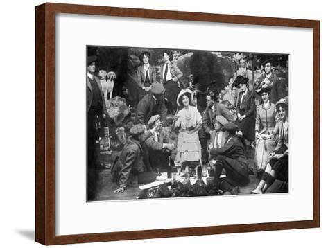 Performance of the Gay Gordons, C1907--Framed Art Print