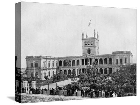 Government House, Asuncion, Paraguay, 1911--Stretched Canvas Print