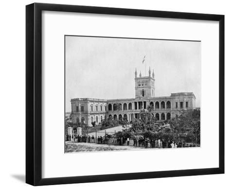 Government House, Asuncion, Paraguay, 1911--Framed Art Print