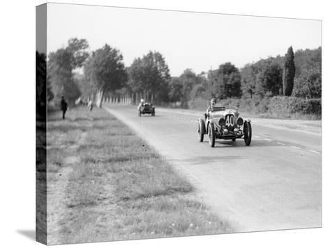 Lagonda Rapier Special, Le Mans 24 Hours, 1934--Stretched Canvas Print