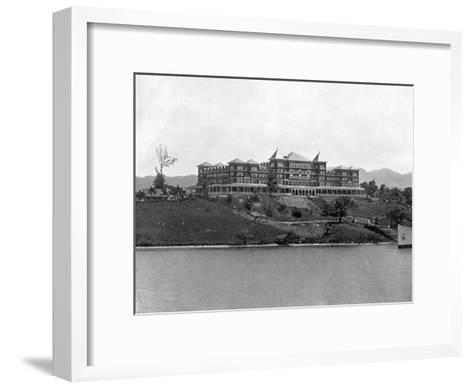 Titchfield Hotel, Port Antonio, Jamaica, C1905-Adolphe & Son Duperly-Framed Art Print