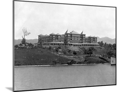 Titchfield Hotel, Port Antonio, Jamaica, C1905-Adolphe & Son Duperly-Mounted Giclee Print