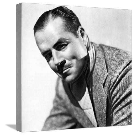 Jack Holt, American Actor, 1934-1935--Stretched Canvas Print