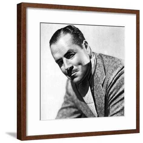 Jack Holt, American Actor, 1934-1935--Framed Art Print