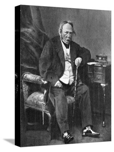 Charles Paul De Kock, French Novelist, 1870--Stretched Canvas Print