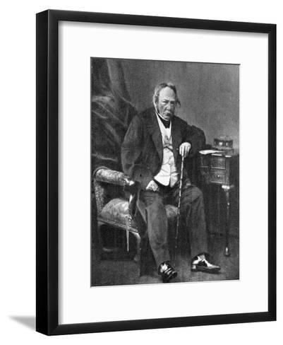 Charles Paul De Kock, French Novelist, 1870--Framed Art Print