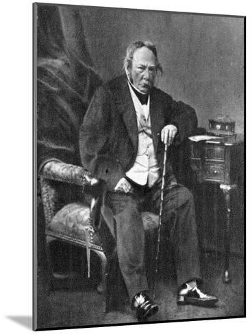 Charles Paul De Kock, French Novelist, 1870--Mounted Giclee Print