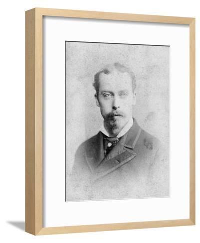 Prince Leopold (1853-188), Duke of Albany, Late 19th Century--Framed Art Print