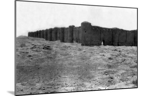 City Walls, Samarra, Mesopotamia, 1918--Mounted Giclee Print