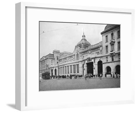 Retiro Railway Station, Buenos Aires, Argentina--Framed Art Print