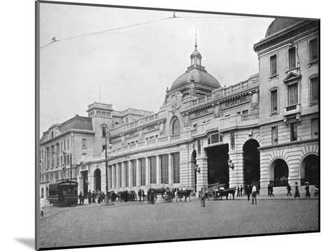 Retiro Railway Station, Buenos Aires, Argentina--Mounted Giclee Print