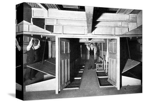 Chambers for the Supply of Fresh Air under the House of Commons, Westminster, London, C1905--Stretched Canvas Print