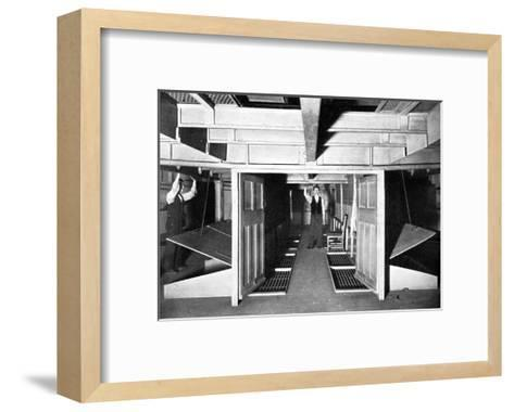 Chambers for the Supply of Fresh Air under the House of Commons, Westminster, London, C1905--Framed Art Print