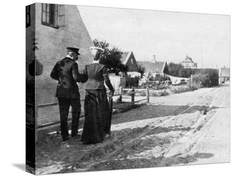 Landing at Skagen, Denmark, 1908--Stretched Canvas Print