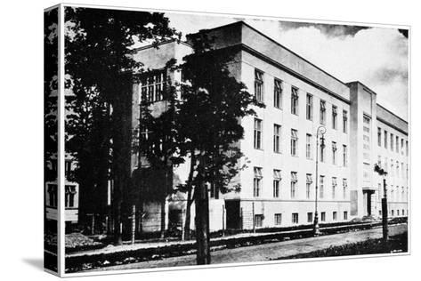 Radium Institute, Warsaw, Poland, 1932--Stretched Canvas Print