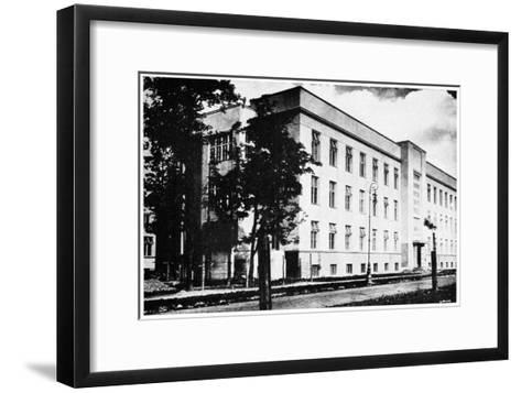 Radium Institute, Warsaw, Poland, 1932--Framed Art Print