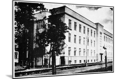 Radium Institute, Warsaw, Poland, 1932--Mounted Giclee Print