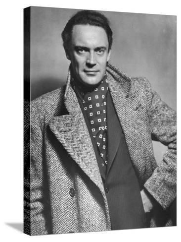 Gustav Diessl, Austrian Artist, and Film and Stage Actor, 20th Century- Sandau-Stretched Canvas Print