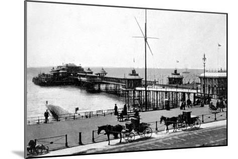 West Pier, Brighton, Sussex, Early 20th Century--Mounted Giclee Print