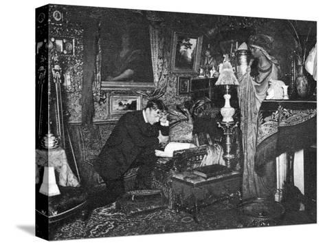 Jean Mounet-Sully, French Actor, 1910--Stretched Canvas Print