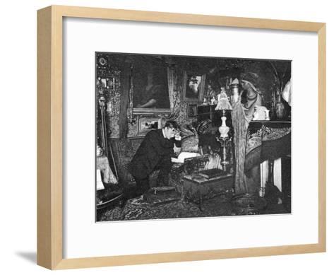 Jean Mounet-Sully, French Actor, 1910--Framed Art Print