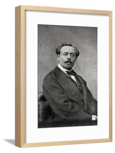 Aurelien Scholl, French Author and Journalist, 1868--Framed Art Print