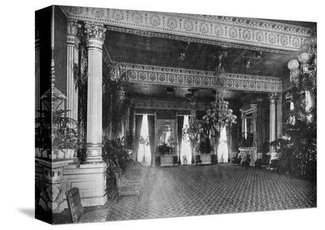 The East Room at the White House, Washington DC, USA, 1908--Stretched Canvas Print