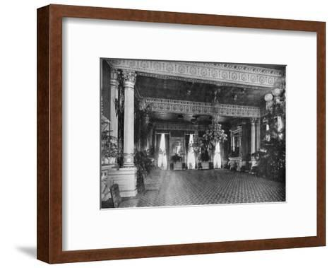 The East Room at the White House, Washington DC, USA, 1908--Framed Art Print