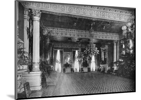 The East Room at the White House, Washington DC, USA, 1908--Mounted Giclee Print